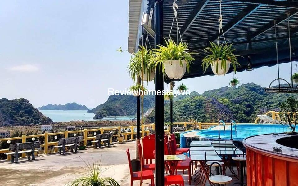 Top 20 Resort khách sạn villa nhà nghỉ homestay Cát Bà giá rẻ đẹp view biển