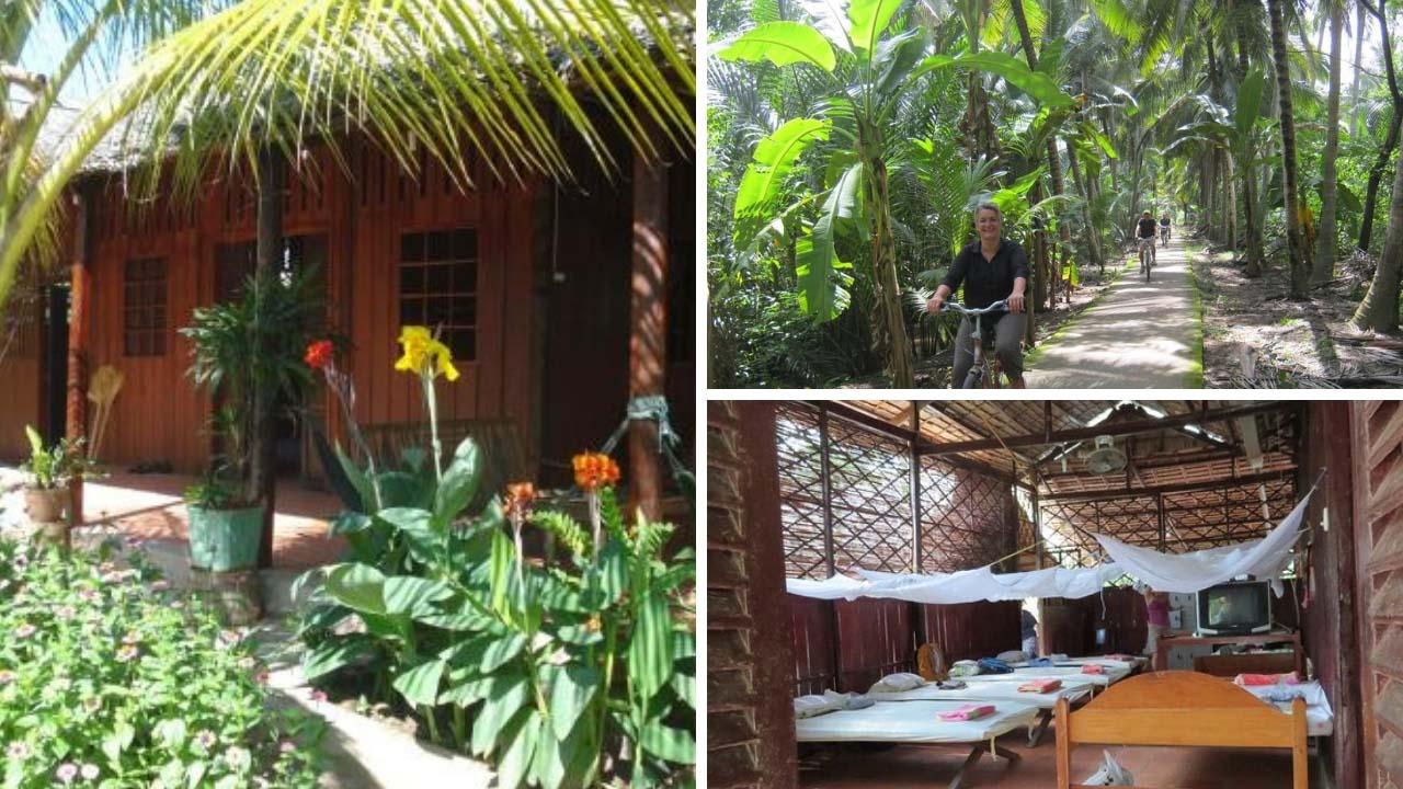 Top 10 homestay Bến Tre giá rẻ decor đẹp đậm chất sông nước miệt vườn