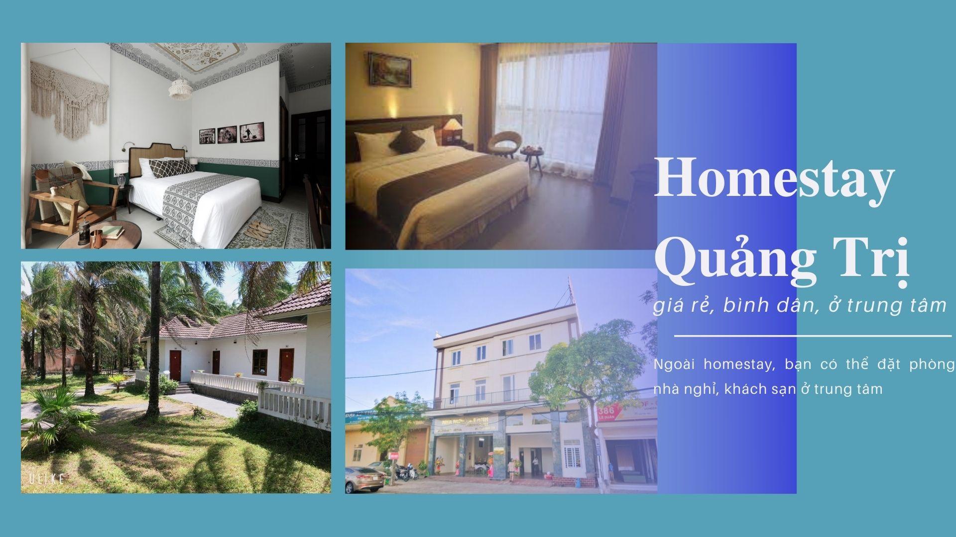 Top 8 Homestay Quảng Trị Đông Hà giá rẻ sạch đẹp ở trung tâm