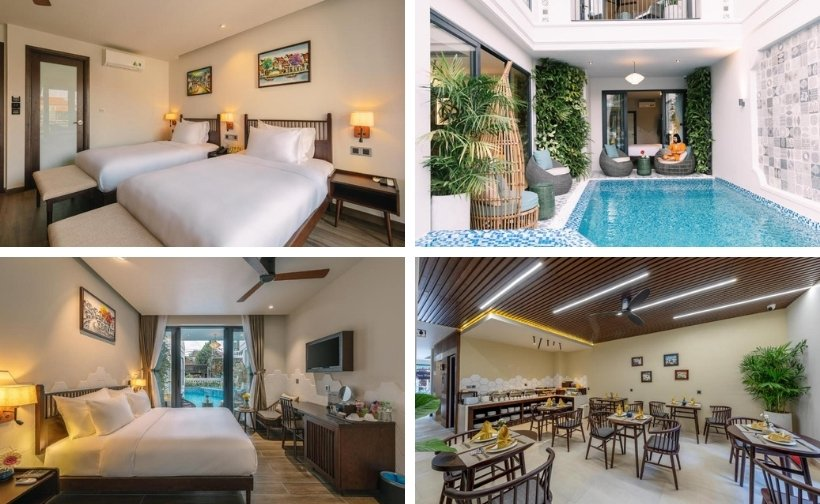 Top 20 Biệt thự villa Hội An đẹp gần biển và phố cổ giá rẻ cho thuê