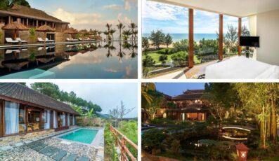 Top 15 Biệt thự villa Huế giá rẻ view đẹp gần biển và trung tâm