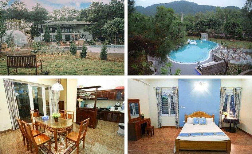 Top 21 Biệt thự villa resort gần Hà Nội giá rẻ view đẹp có hồ bơi