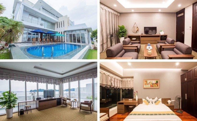 Top 9 Biệt thự villa Tuần Châu nguyên căn có hồ bơi view đẹp giá rẻ